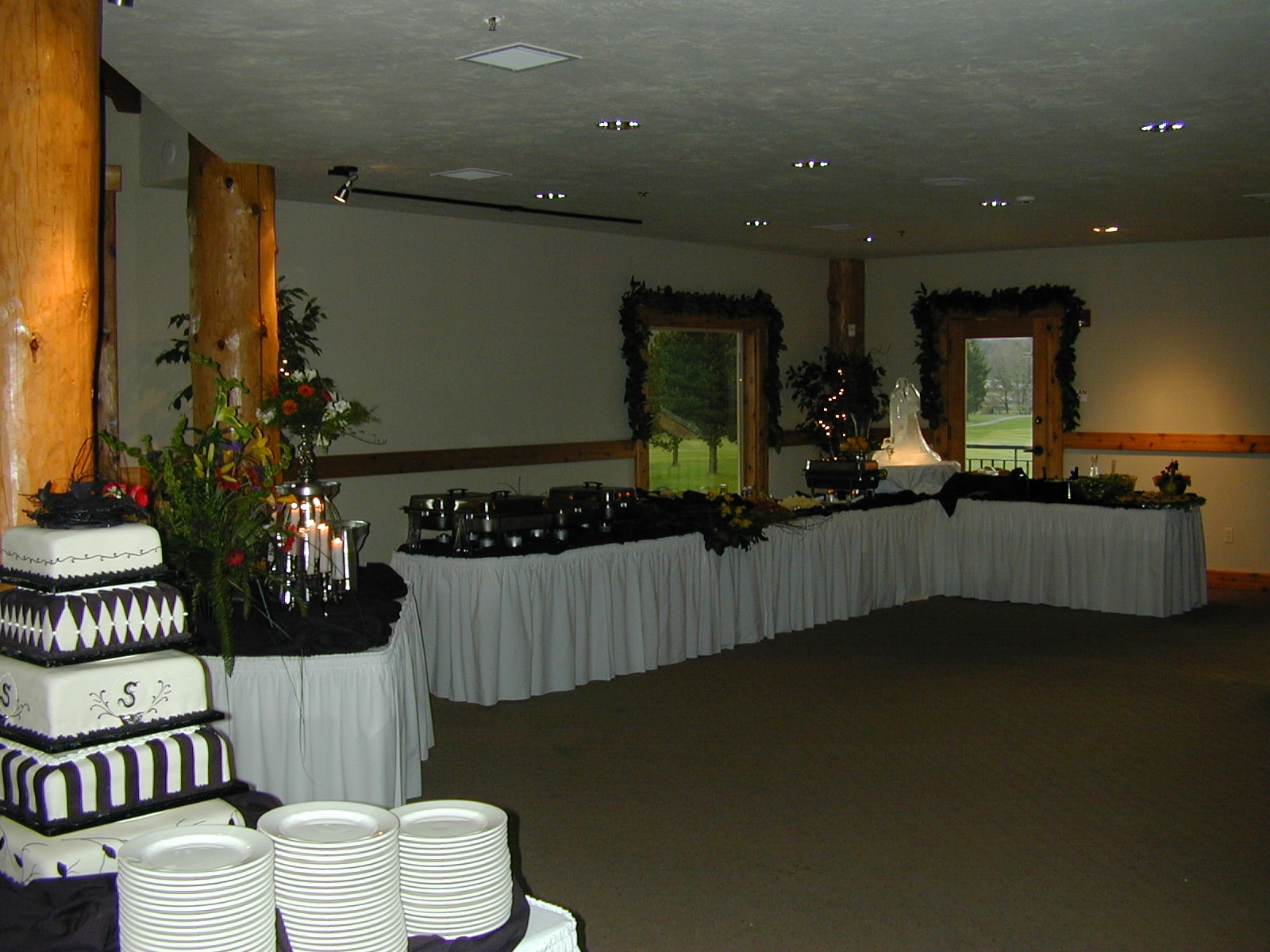 A beautiful buffet at Lewis River Golf Course